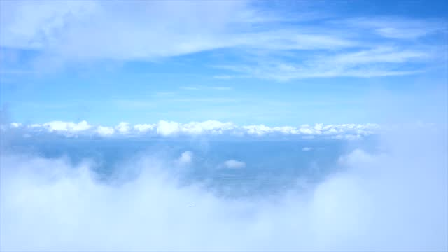 clouds sky scape. - pagoda stock videos & royalty-free footage