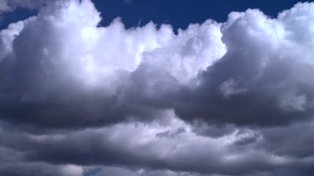 clouds time lapse 4k - storm cloud stock videos & royalty-free footage
