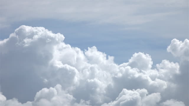 Clouds time lapse in 4k