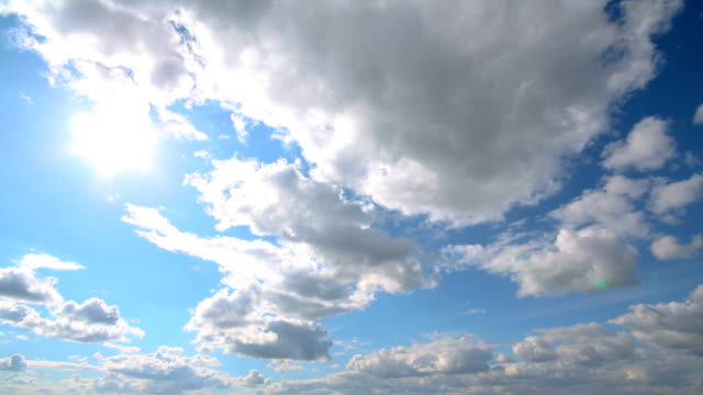 clouds time lapse - nuvole video stock e b–roll