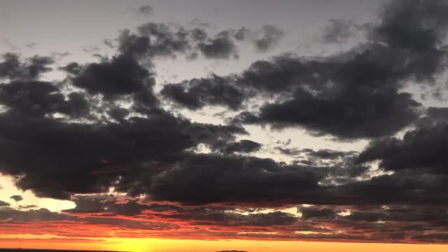 vidéos et rushes de nuages time-lapse - nouveau mexique