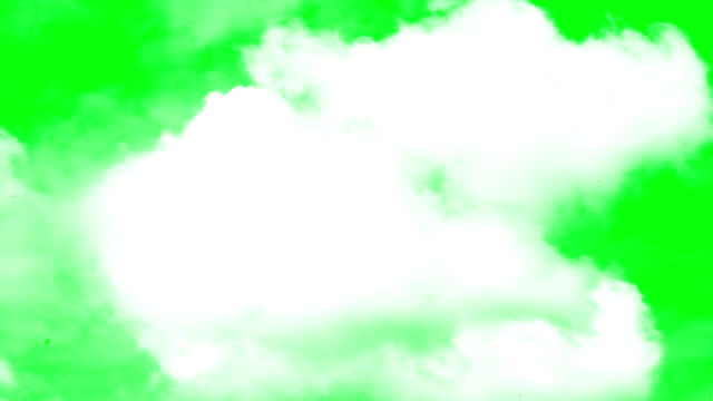 clouds transition - green stock videos & royalty-free footage