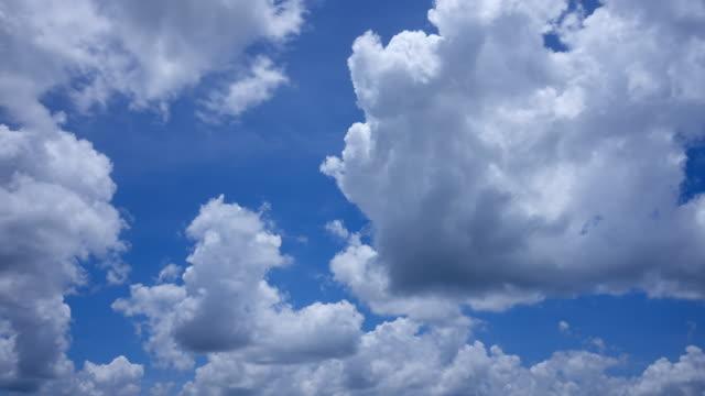 Wolken in blauer Himmel