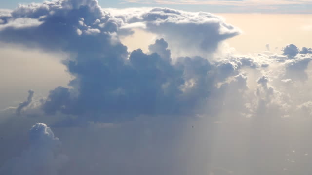 clouds with sun rays - silvestre stock videos & royalty-free footage