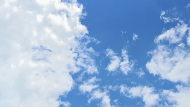 Cloudscape and Blue Sky Backgrounds, Timelapse