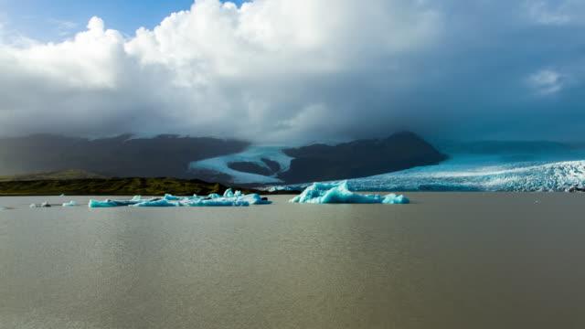 T/L Cloudscape at Jokulsarlon lagoon
