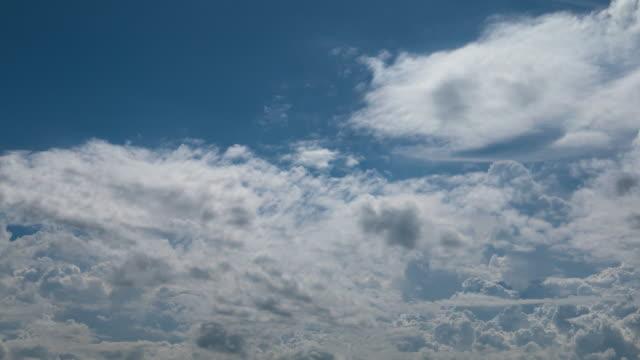 vídeos y material grabado en eventos de stock de fondo de cloudscape - el cielo