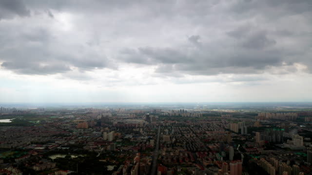 cloudscape in the rain - liyao xie stock videos & royalty-free footage
