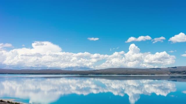 Cloudscape over a lake