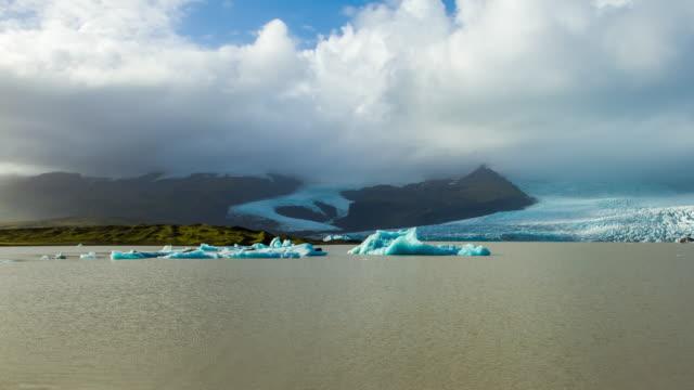 T/L Cloudscape over Jokulsarlon lagoon