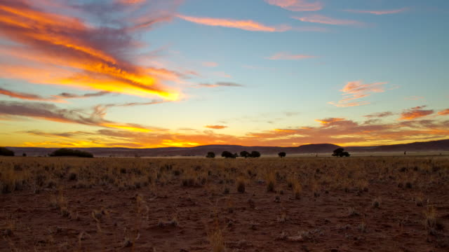 t/l cloudscape over the sesriem - namibia desert stock videos and b-roll footage