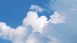 Cloudscape time lapse video in 4k