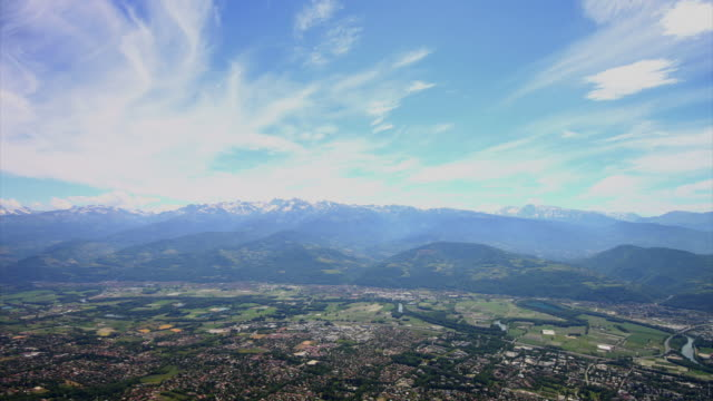 Cloudscape time lapse video, Isere valley, France