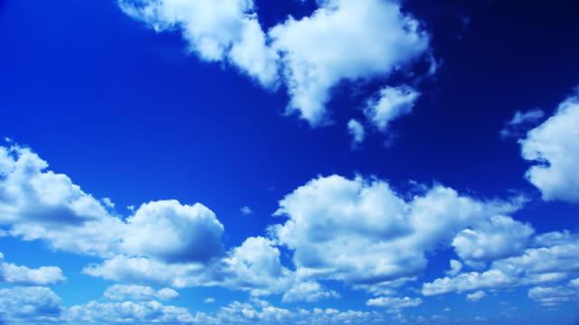 Cloudscape vídeo de intervalo de tempo