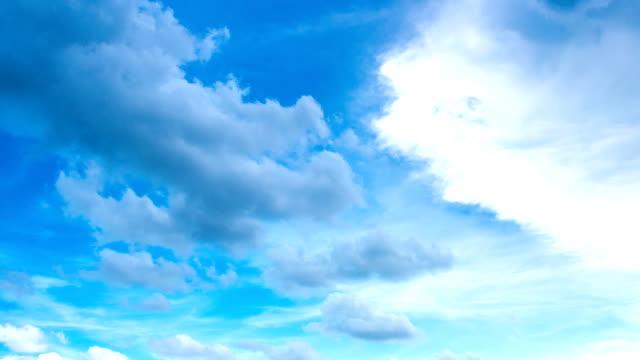 Wolkengebilde timelapse