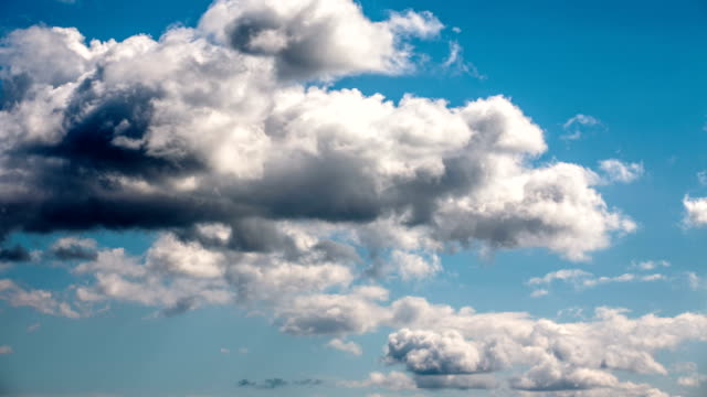 time lape: cloudscape - sky only stock videos & royalty-free footage