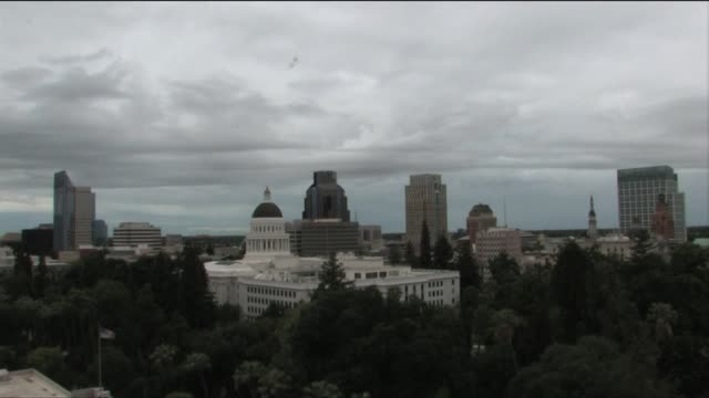 Cloudy Day in Downtown Sacramento