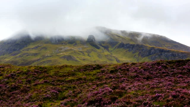 cloudy scotland - scottish highlands stock videos and b-roll footage