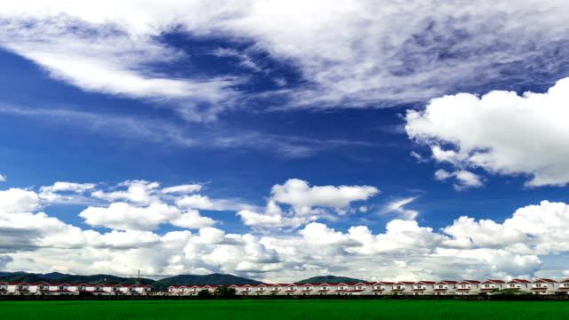 vídeos y material grabado en eventos de stock de nublado cielo timelapse - polarizador