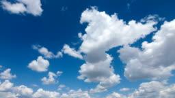 Cloudy Sky Timelapse