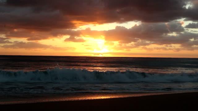 Cloudy Sunrise On Beach 2