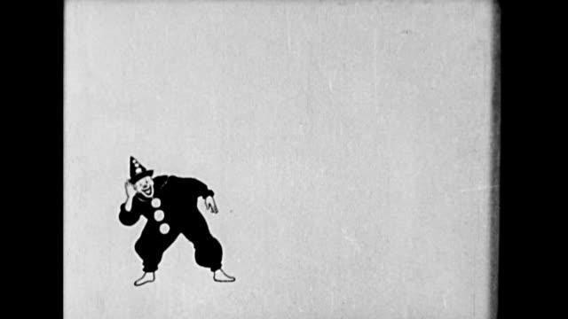 a clown dances - clown stock videos & royalty-free footage