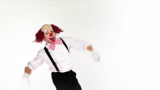Clown lächerlich.