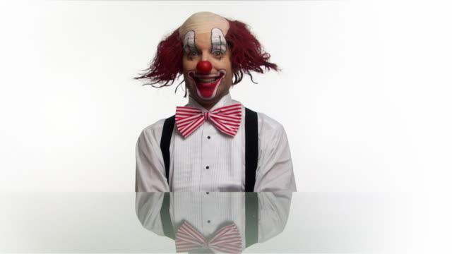 clown .. - circus stock videos & royalty-free footage