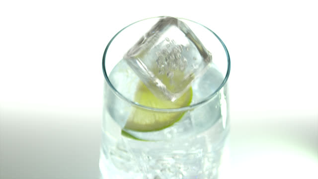 club soda-cocktail - slice stock videos & royalty-free footage