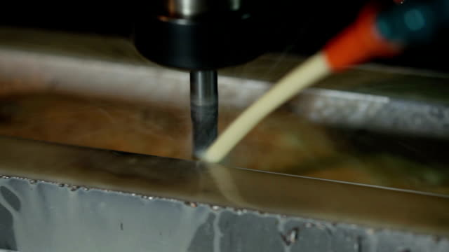 cnc machine close-up
