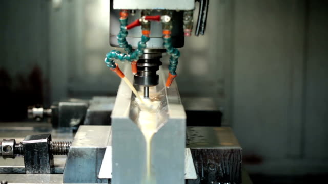 cnc machine - aluminum stock videos and b-roll footage