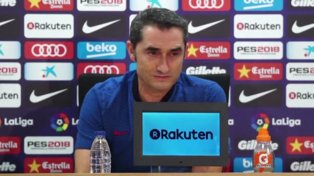 Coach Ernesto Valverde says that some easing of political tensions on Catalonia would be good for all of us as Barcelona prepare to face Seville on...