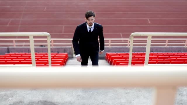 Trainer verlassen Stadion