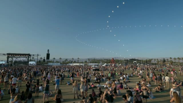 TIMELAPSE Coachella Music Festival Weekend Two on April 18 2014 in Indio California