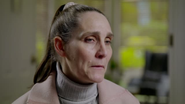 coaches forced to leave jobs over abuse allegations employed elsewhere; location unknown: int donna louise-wilson interview via web with reporter... - law stock videos & royalty-free footage