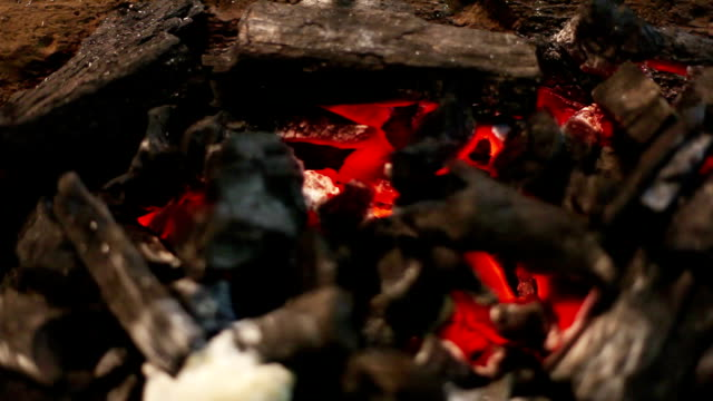 coal fire - open hearth furnace stock videos & royalty-free footage
