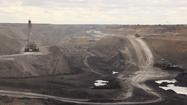 coal mine activity - pit mine stock videos and b-roll footage
