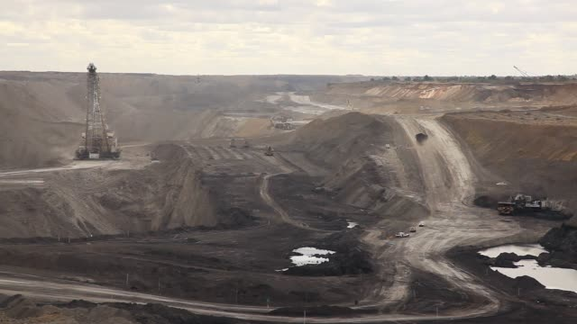 coal mine activity - coal stock videos and b-roll footage