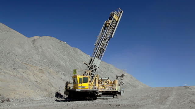 coal mine drilling machine driving - coal miner stock videos & royalty-free footage