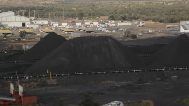 Coal mine stockpiles