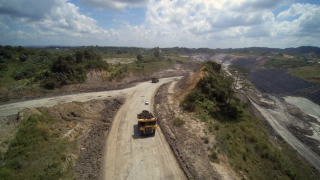Coal Mine truck Borneo Kalimantan Indonesia