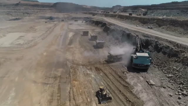 coal mining, china - machinery stock videos & royalty-free footage
