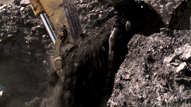 coal mining close up - coal mine stock videos and b-roll footage