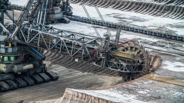 coal mining - open cast mine - open cast mine stock videos & royalty-free footage