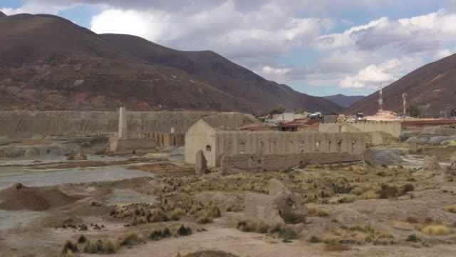 coal mining town / potosi, bolivia - extreme terrain stock videos & royalty-free footage