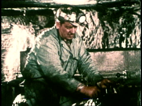 1978 montage coal mining / usa - 1978 stock videos & royalty-free footage