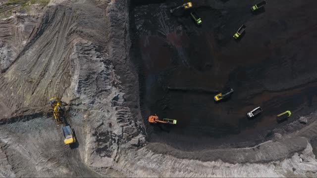 coal mining - tir video stock e b–roll