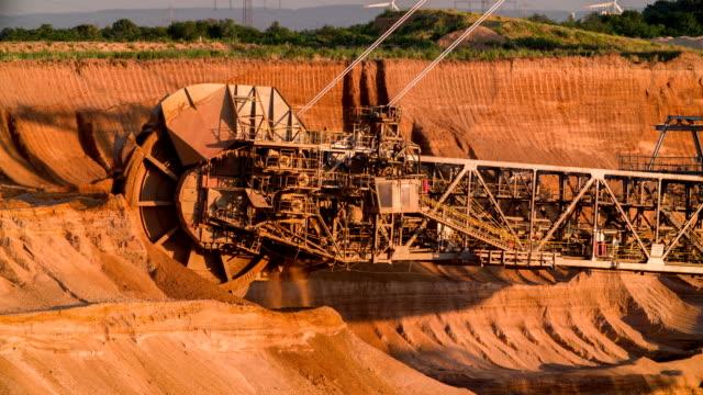 coal mining - bucket stock videos & royalty-free footage