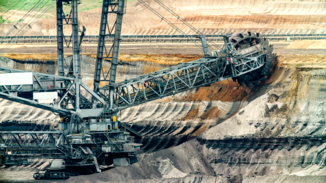 coal mining - bucket stock videos and b-roll footage