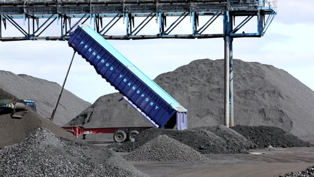 Coal on the docks